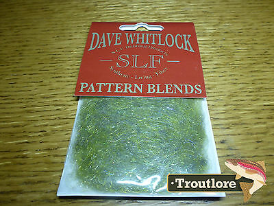 Slf Dave Whitlock Shrimp Olive Dubbing - New Fly Tying Material