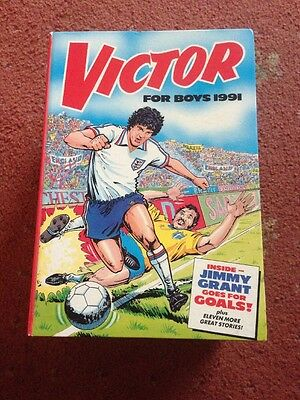 THE VICTOR BOOK FOR BOYS ANNUAL 1991 Excellent Condition