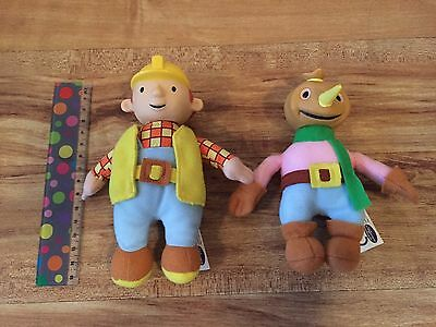 Bob The Builder And Spud Talking Plush Figures