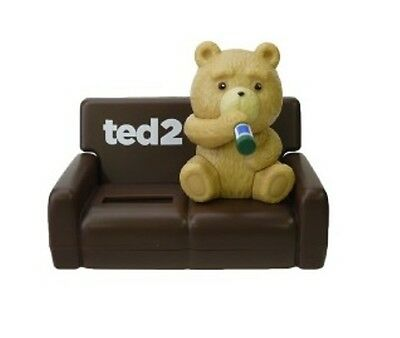 Nohohon Lucky Ted 2 Teddy Bear Brown Sofa Solar ECO Japan Figure Exclusive NEW
