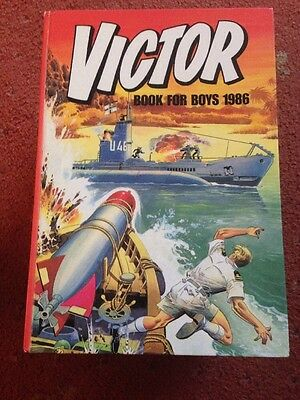 THE VICTOR BOOK FOR BOYS ANNUAL 1986  Excellent Condition