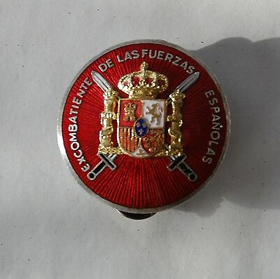 Medal Veterans Medal Who Participated in the Spanish Civil War Limited Edition