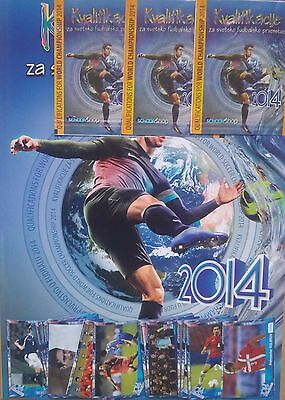 2014 Q Fifa World Cup Brasil Football Soccer Album Stickers Packets Not Panini