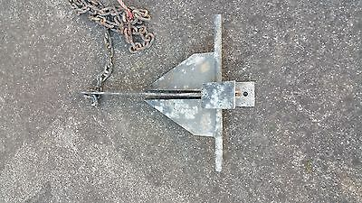 Boat Anchor, Sand Anchor 4.5Kg with Chain