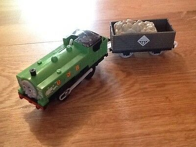 Trackmaster Duck And Carriage From Thomas And Friends