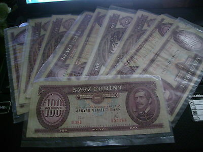 Budapest  Bank Note`s  10 In Total (  Bargain )