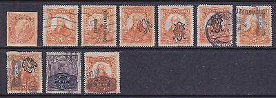 Mexico Small Early Lot Used Cat £12
