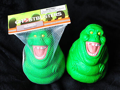 GHOSTBUSTERS Slimer Squishy Toy!
