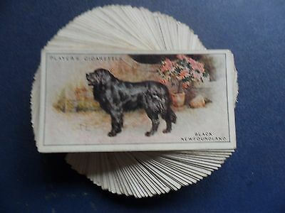 F/S 50 cards Players Dogs by Wardle.Scenic Background  Issued in 1925.Cat.£45