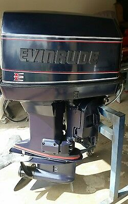 EVINRUDE 130hp VRO V4 OUTBOARD MOTOR IMMACULATE INTERSTATE SHIPPING