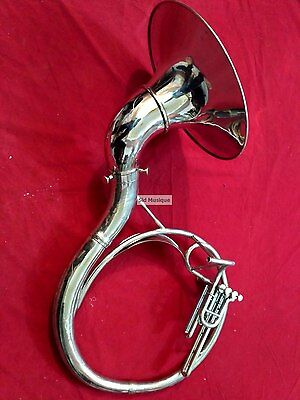 Sousaphone Smallest 16 Inches Valve Profesional Pure Bras Free Case & Mouthpc