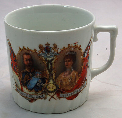 King George V Coronation Mug