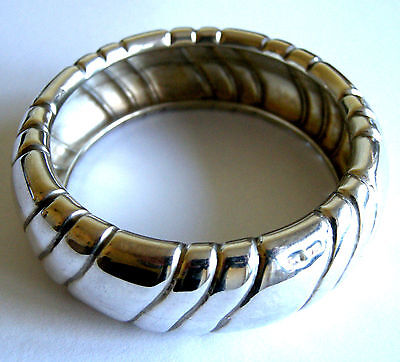Ilias Lalaounis 925 Sterling Silver Bangle