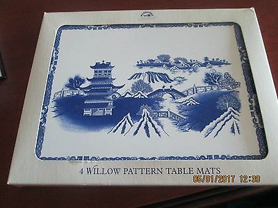 Ringtons--Willow Pattern Place Mats