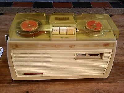 stellaphone twin track tape recorder reel to reel 1964