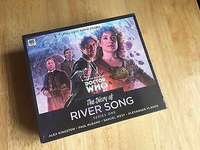Doctor Who Big Finish DIARY OF RIVER SONG 1 (Brand New & Sealed ) FREE POST