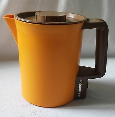 Retro 1970S Orange Kambrook Water Heater - Baby Bottle Warmer Egg Poacher 8 Cup