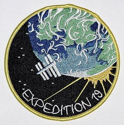 Aufnäher Patch Raumfahrt ISS Mission - Expedition 19 ..............A3220