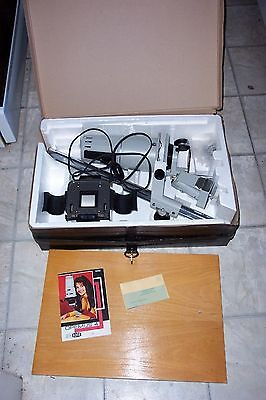 Opemus 4 Darkroom Enlarger system in NEW condition.