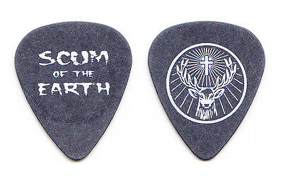 Rob Zombie Mike Riggs Scum of the Earth Jagermeister Gray Tour Guitar Pick