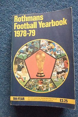 Rothmans Football Yearbook 1978-79 - Soft back
