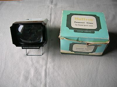 VISIONNEUSE diapositive diapo VINTAGE optical lenses Halina Paramount Viewer