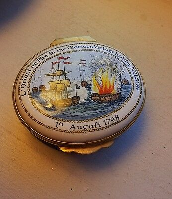 Collectible - Lord Nelson, Pill Box/ Ornamental