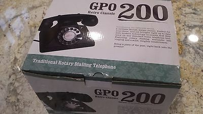 GPO Telephone retro black - new and fully working