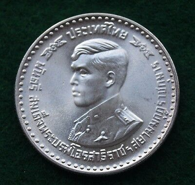 Thailand Sterling Silver 1978, 150 Baht, Graduation of Crown Prince, 22 Grams