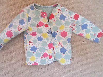 M&S Baby girl's floral jacket 12-18 months