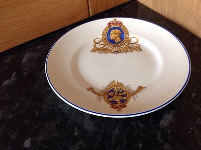 Edward Viii Commemoration Plate Made By Norville Ware England