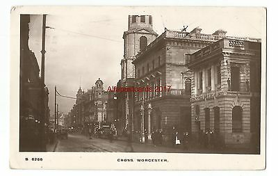 Worcester Cross 1911 Real Photo Vintage Postcard 19.1.1