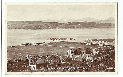Scotland Greenock 3 Vintage Postcards 19.1