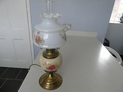 Vintage Oil Lamp Converted To Electric