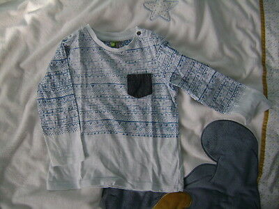 T-shirt manches longues taille 86
