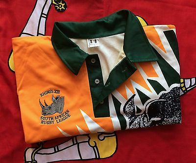 1995 Rare/vintage South African Rugby League World Cup Shirt Size Xl