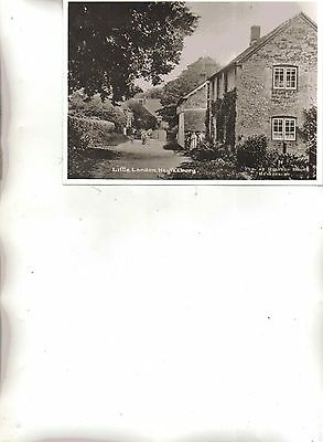 HEYTESBURY Little London about 1920 Reproduced Photograph
