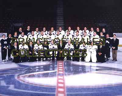 1998 Vancouver Canucks Team Photo 8X10
