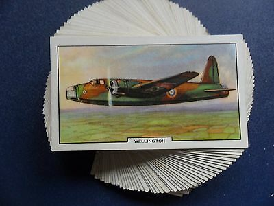 F/s 48 Cards Gallahers Aeroplanes  Issued 1939.cat.val £45.