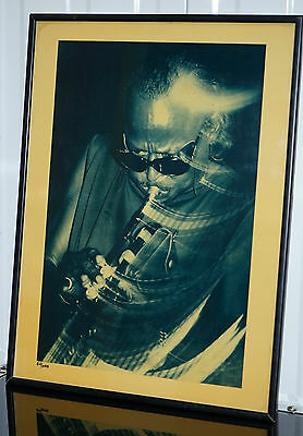 1987 Miles Davis Ltd Edition 60/1000 Virgin First Editions Print By Nick White