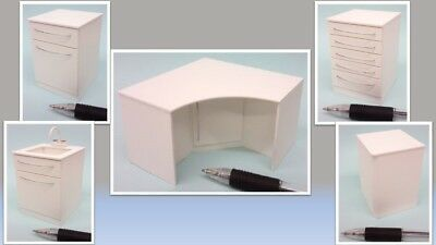 1:12 dolls house miniature modern dental stools 2 to choose from. NOT REAL Dolls & Bears