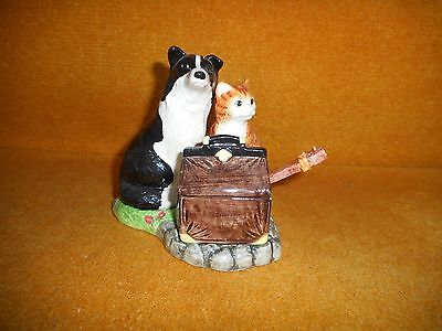 Border Fine Arts James Herriot Country Kitchen - Collie & Cat Cruet Set 470988