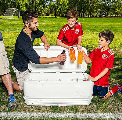 Igloo Polar Large 120 Quart 114 Litre 188 Can Cool Box Ice Chest Cooler 5 Days