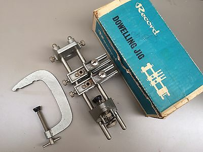 Boxed Record No 148 Dowelling Jig Great Condition