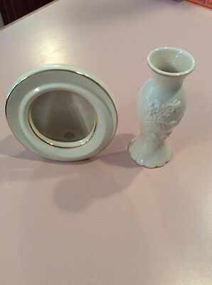 Lenox Vase And Picture Frame