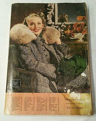 Montgomery Ward & Co. Catalog 1940 1941 No. 133 Fall & Winter vintage Store Book