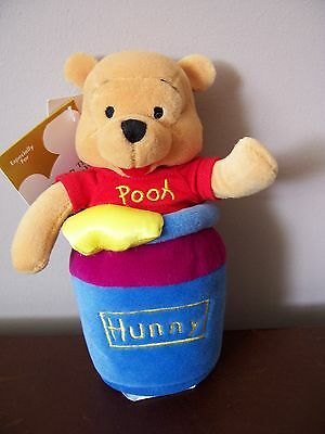 Pooh Slammer Bean Bag - New - With Sound - Works