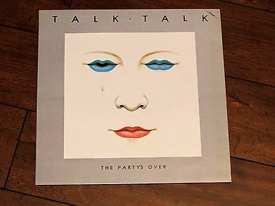 Rare Original 1982 Talk Talk The Party's Over Vinyl LP Album Record  FA32187