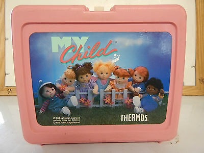 Vintage My Child Plastic Lunch Box Only No Thermos