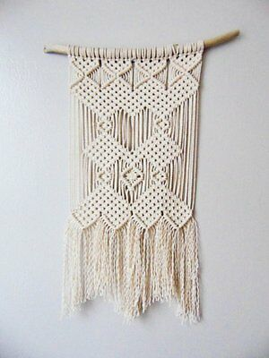 At Your Own Offer  Stylish Home Decorative Handmade Gift Macrame Wall Hanging
